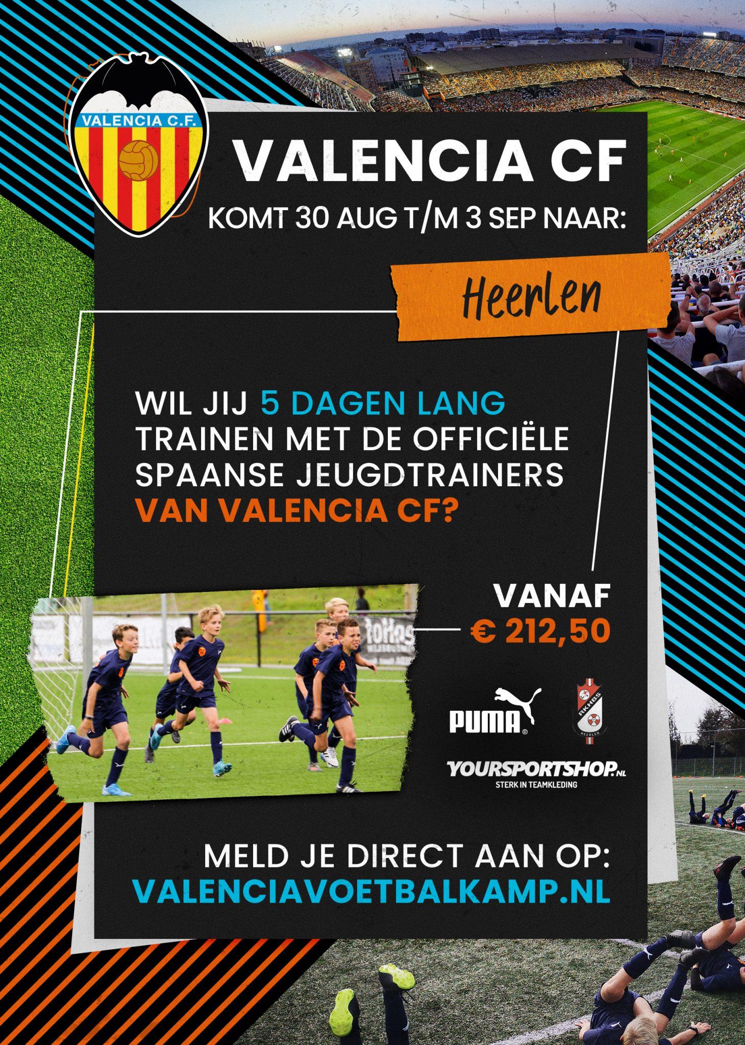 Valencia voetbalkamp weer te gast bij RKHBS