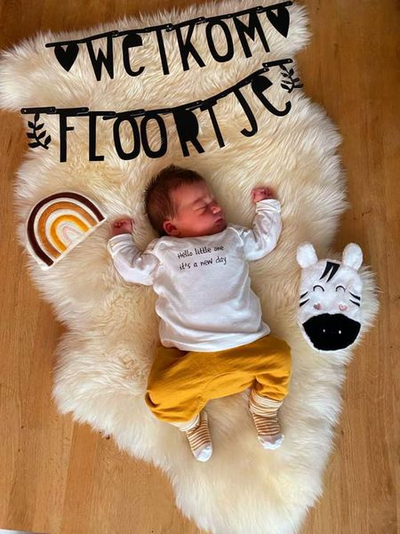 Geboren: Floortje