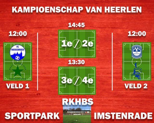 Finales kampioenschap van Heerlen bij RKHBS