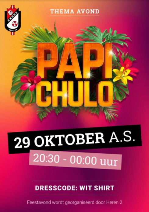 Papi Chulo party