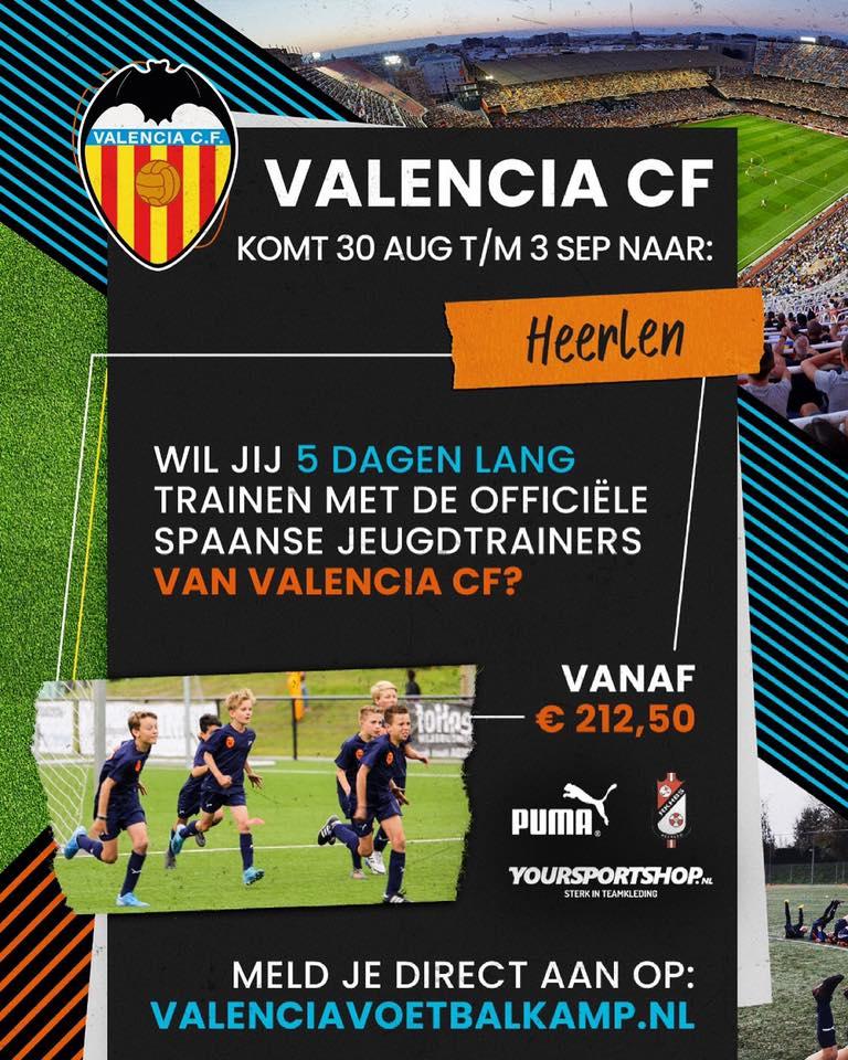 Valencia voetbalkamp bij RKHBS